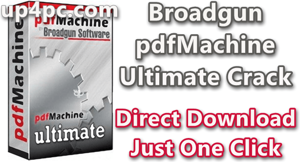 Broadgun pdfMachine Ultimate 15.35 Crack [Latest]