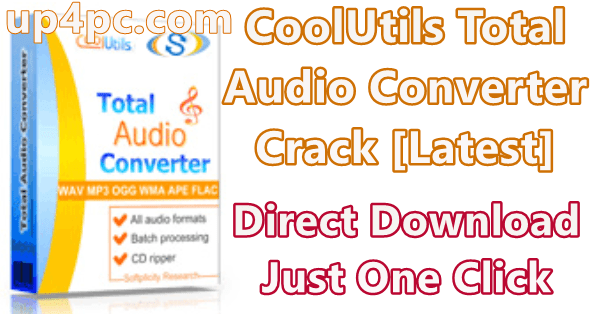 Coolutils Total Audio Converter 5.3.0.217 With Crack [Latest]