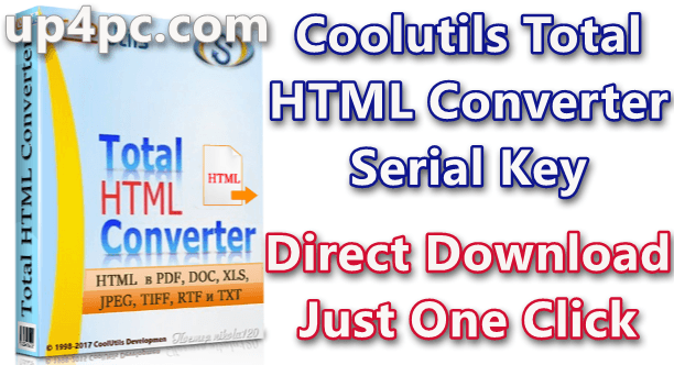 Coolutils Total HTML Converter 5.1.0.77 With Serial Key Download [Latest]