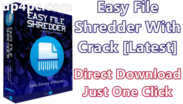 Easy File Shredder 2.0.2020.122 With Crack [Latest]
