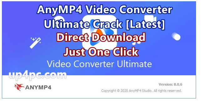 AnyMP4 Video Converter Ultimate 8.0.6 With Crack [Latest]