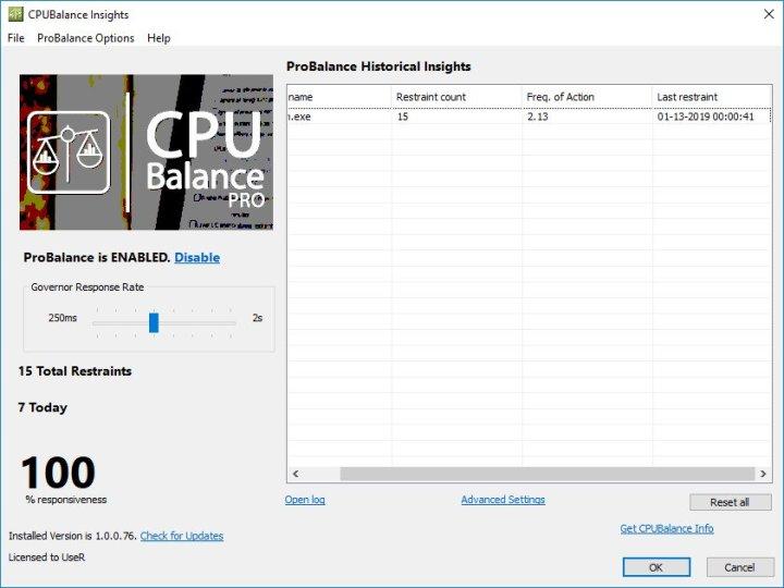 Bitsum CPUBalance Pro Crack