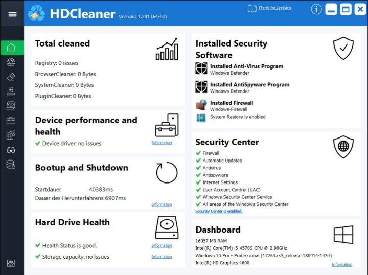 HDCleaner 1.292 Free Download 2020 [Latest]