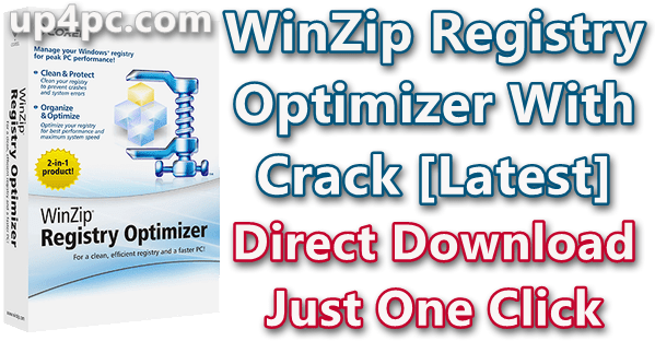 WinZip Registry Optimizer 4.22.1.6 With Crack [Latest] 1