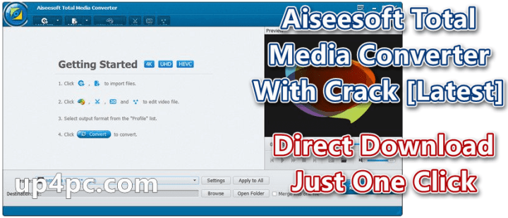 Aiseesoft Total Media Converter 9.2.26 With Crack [Latest]