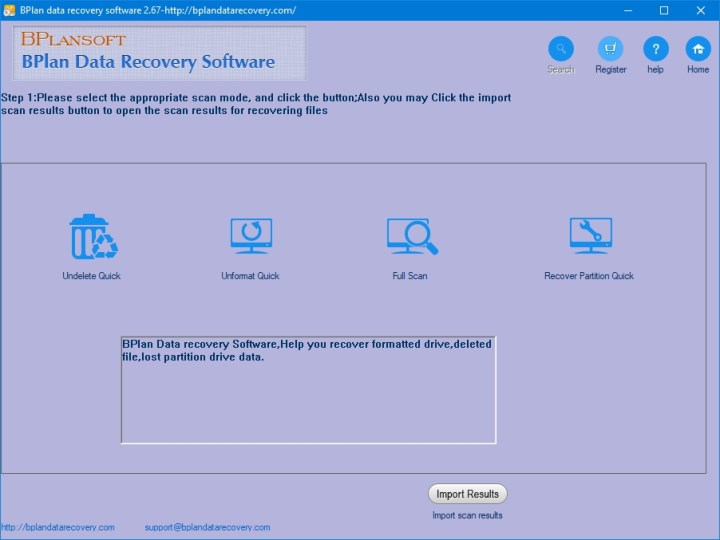 Bplan Data Recovery Software 2.68 Full Version Key [Latest]