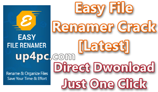 Easy File Renamer 2.4 With Crack + License Key [Latest]