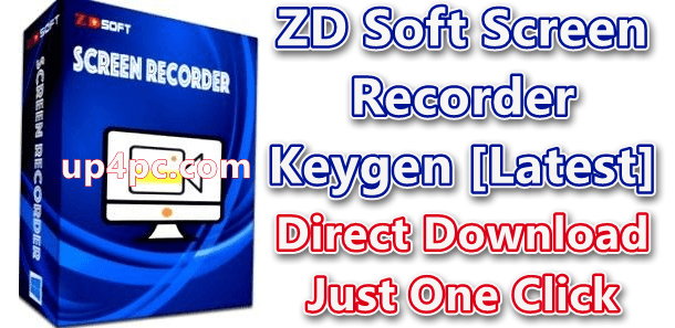 ZD Soft Screen Recorder 11.3 With Serial Keygen Download [Latest]