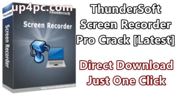 ThunderSoft Screen Recorder Pro 11.0.0 With Crack Download [Latest]
