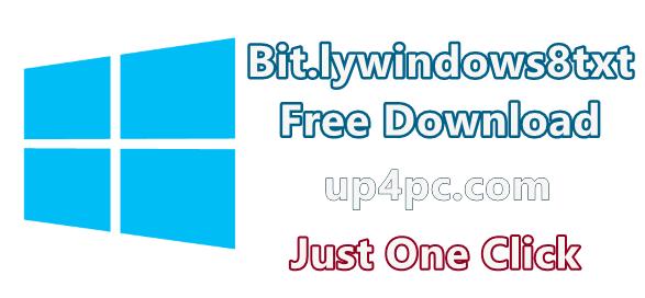 Bit.lywindows8Txt Windows Activator