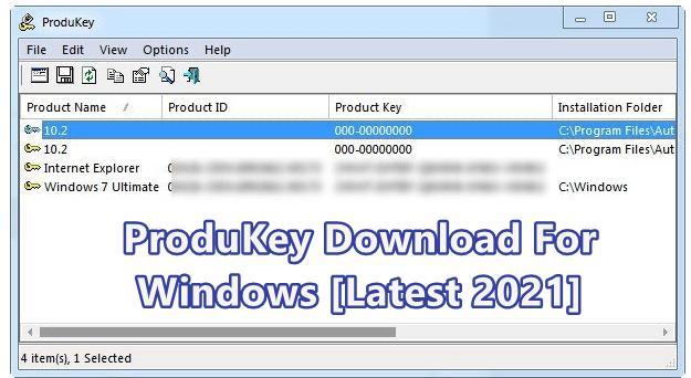 Nirsoft Produkey, Download Nirsoft Produkey