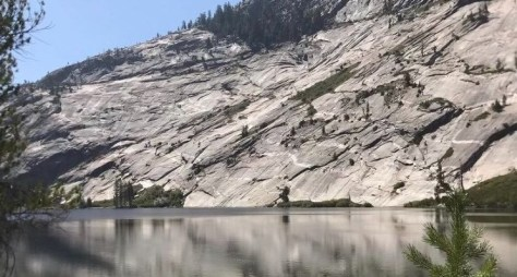 A view of Merced Lake at Yosemite National Park from the summer of 2020.
