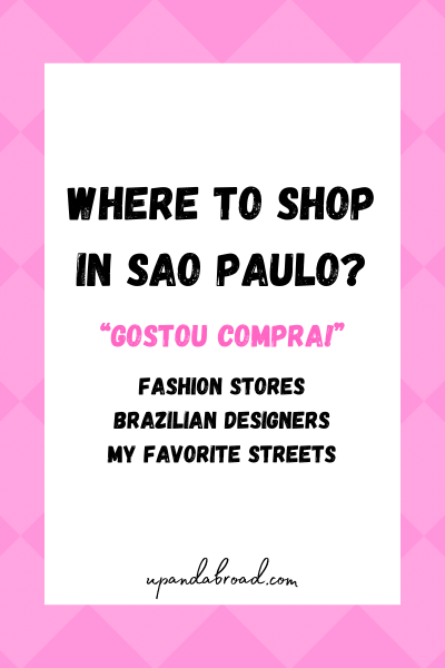 Where to shop in São Paulo