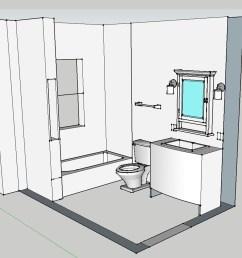 3d bath layout [ 1650 x 1275 Pixel ]