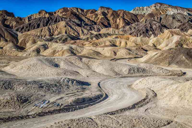 Death Valley What to See - Twenty Mule Team Canyon