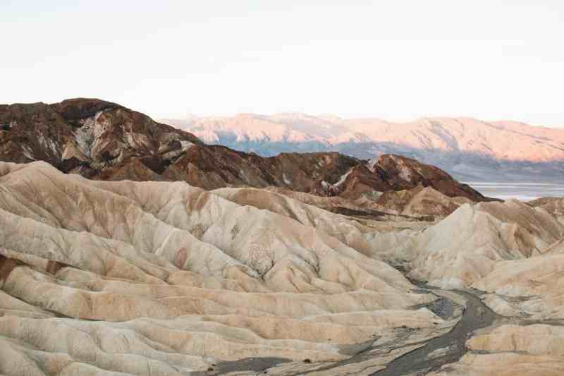 What to See in Death Valley - Zabriskie Point