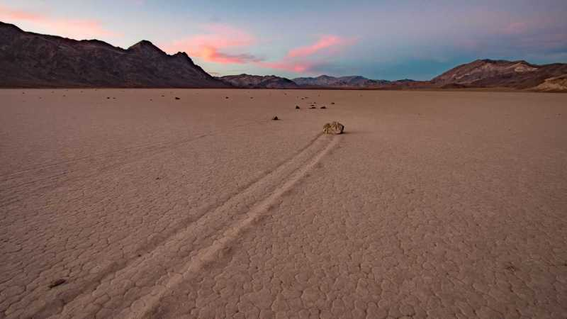 Visiting Death Valley - The Racetrack