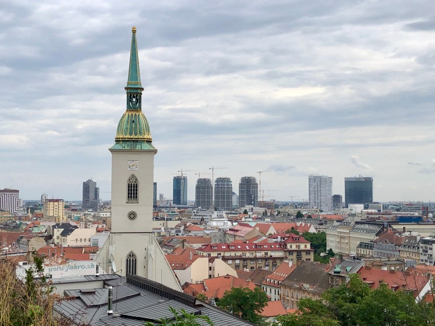 St. Martin's Cathedral, a must-see in Bratislava