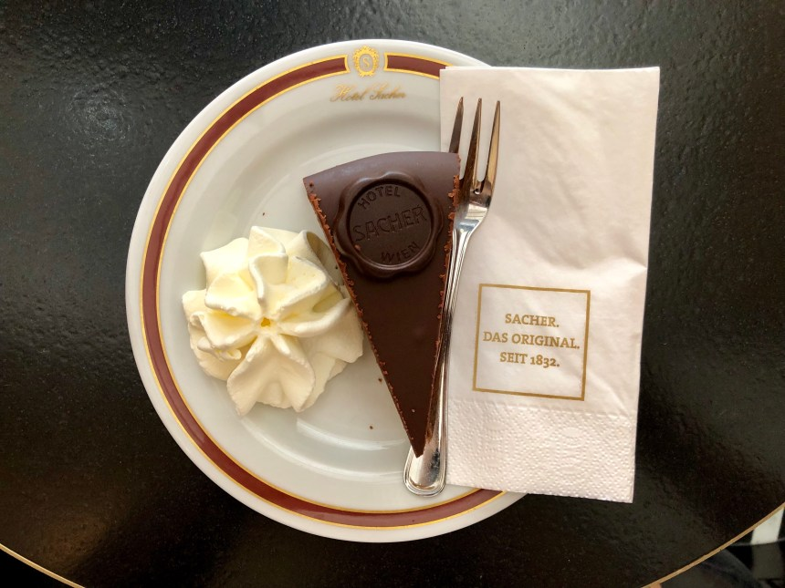 Sachertorte, a must eat treat in Vienna