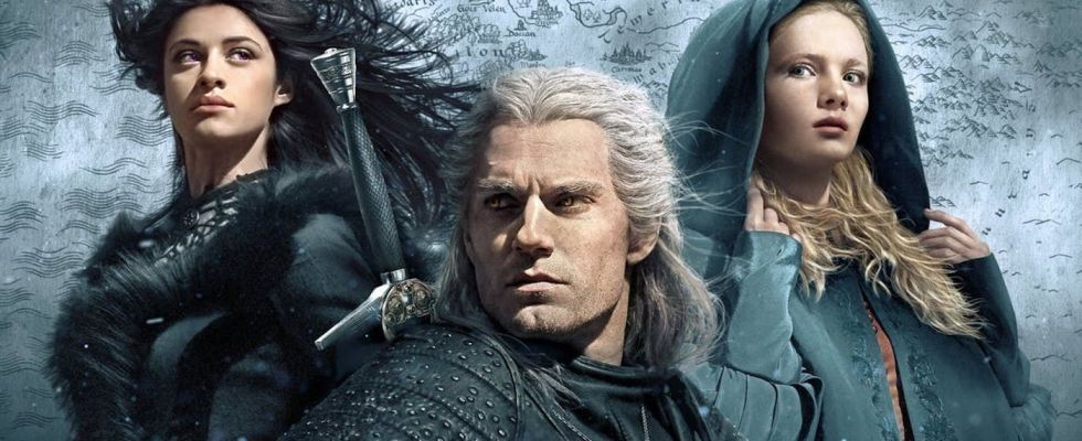 yennefer-geralt-and-ciri-in-the-witcher-on-netflix the witcher soundtrakc trilha sonora