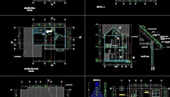 bản vẽ thiết kế điện biệt thự