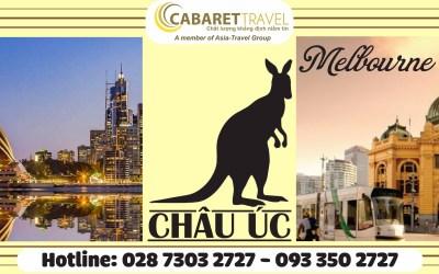 DU LỊCH ÚC 6N5Đ: MELBOURNE – SYDNEY