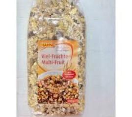 Ngũ cốc yến mạch mix 30 hoa quả HAHNE Multi Fruit Muesli 1Kg