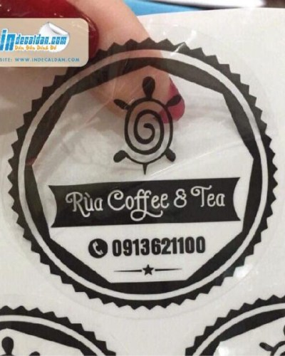 In decal trong bế tròn