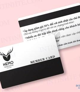 Mẫu thẻ nhựa – thẻ thành viên 02
