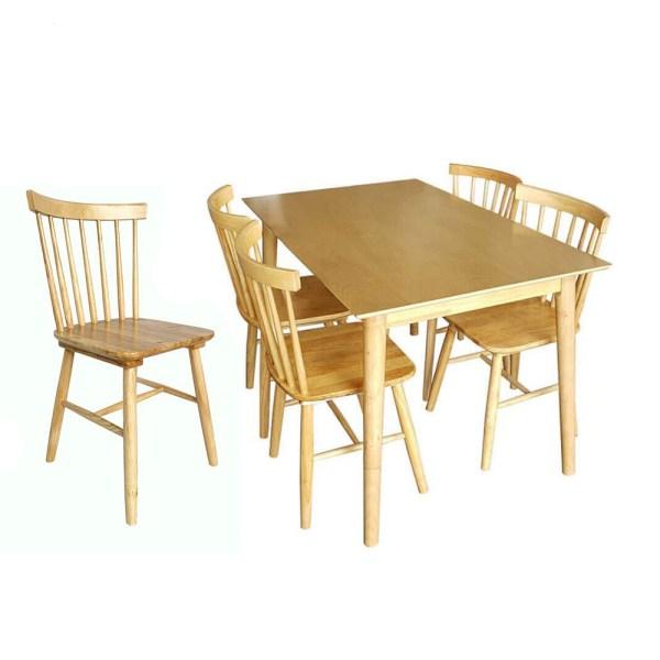 Bộ bàn ăn Song Tiện 4 ghế
