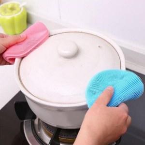 Miếng rửa chén bằng silicon