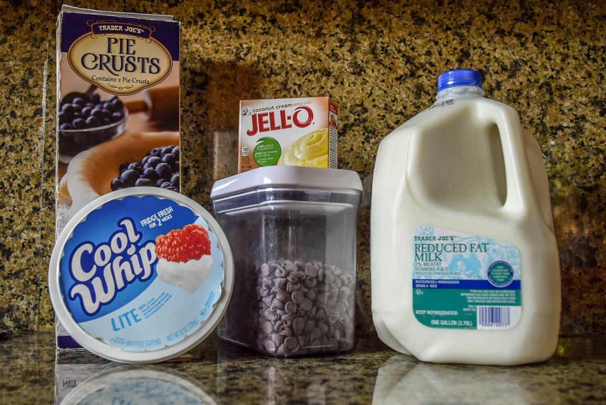 Ingredients for Coconut Cream Pie Bites