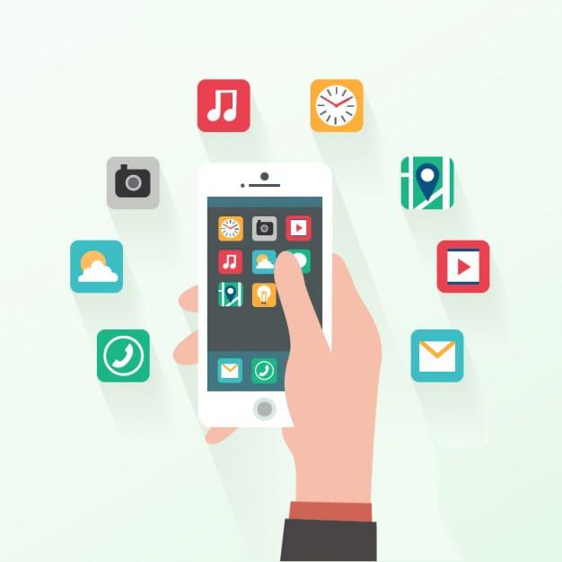 تطبيقات الهاتف الذكي