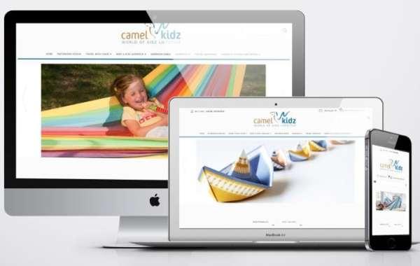 e-commerce websitedesign - camel kidz