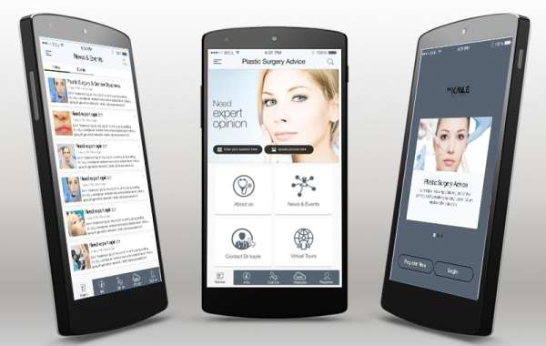 Mobile App Design Beauty Center