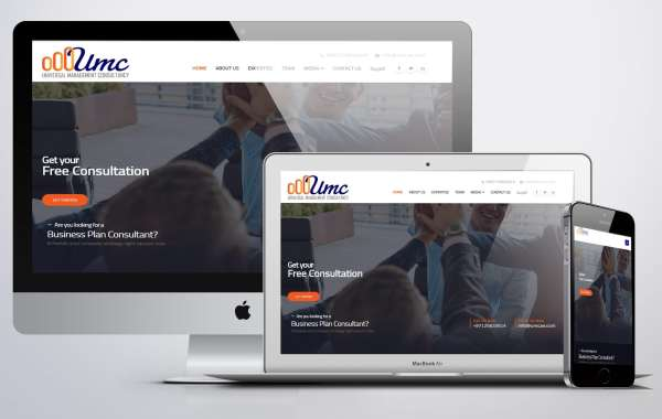 website design accounting consulting Universal Management Consultancy Webdesign