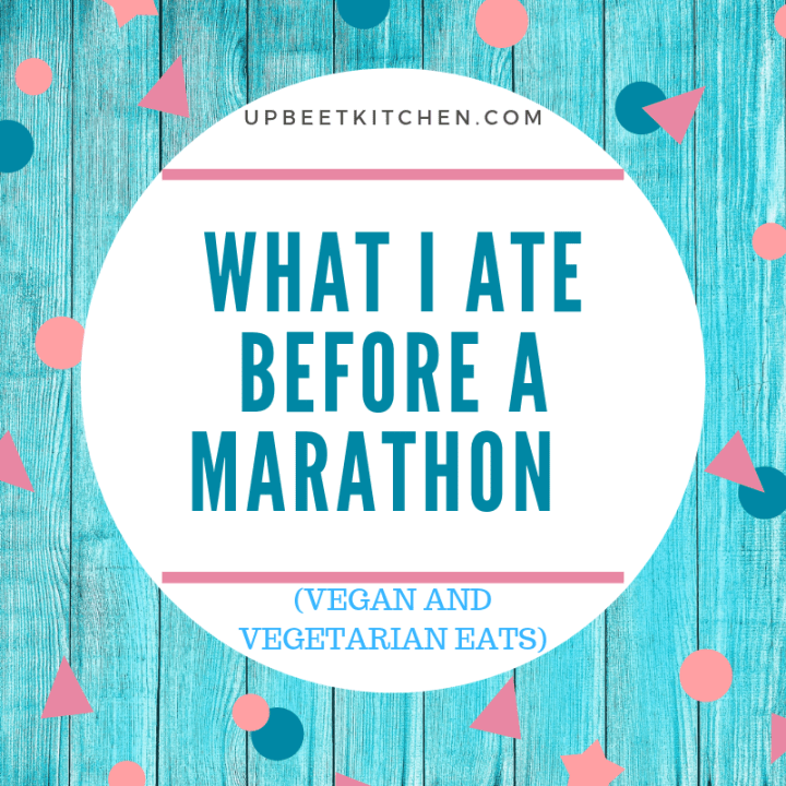 what I ate before a marathon