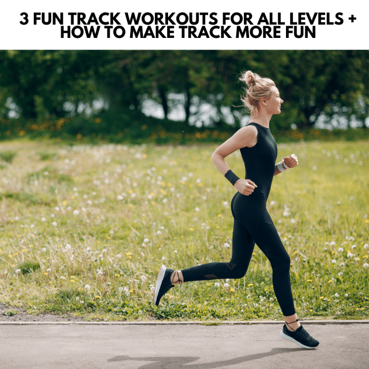 featured image for the post showing a fit woman running