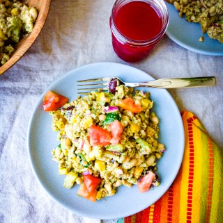 farro pesto white bean salad recipe