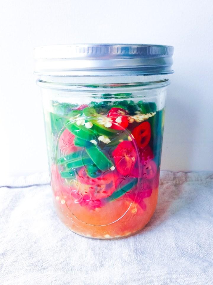 How To Make Pickled Jalapenos // UpBeet Kitchen