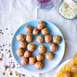 Cashew Chocolate Cookie Dough Balls // UpBeet Kitchen
