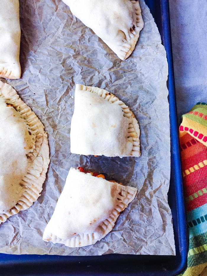 Tempeh Mushroom Sweet Potato Empanadas: The finished product!