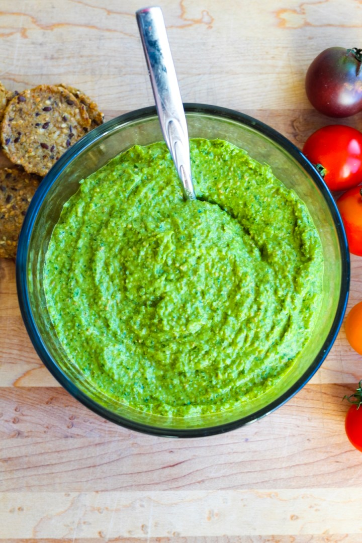 Vegan Cilantro Jalapeno Pesto Recipe