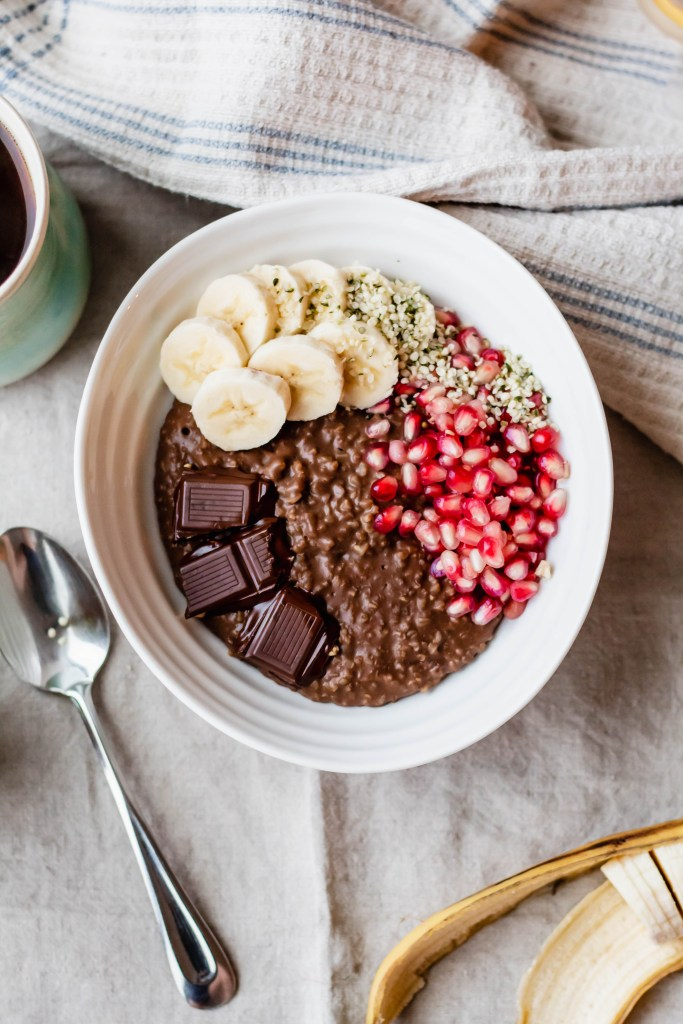 Delicious Vegan Chocolate Steel Cut Oatmeal Recipe