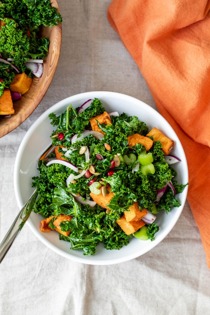 Festive Kale Salad Recipe