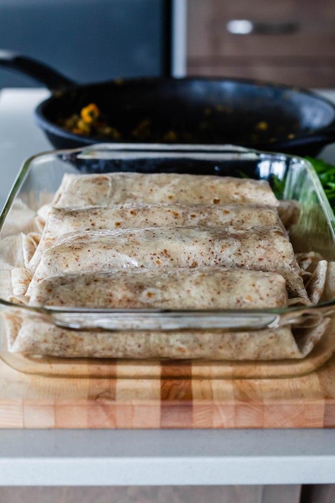 Lentil and Butternut Squash Roti: Vegan Recipe