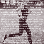 pinnable description of the workouts