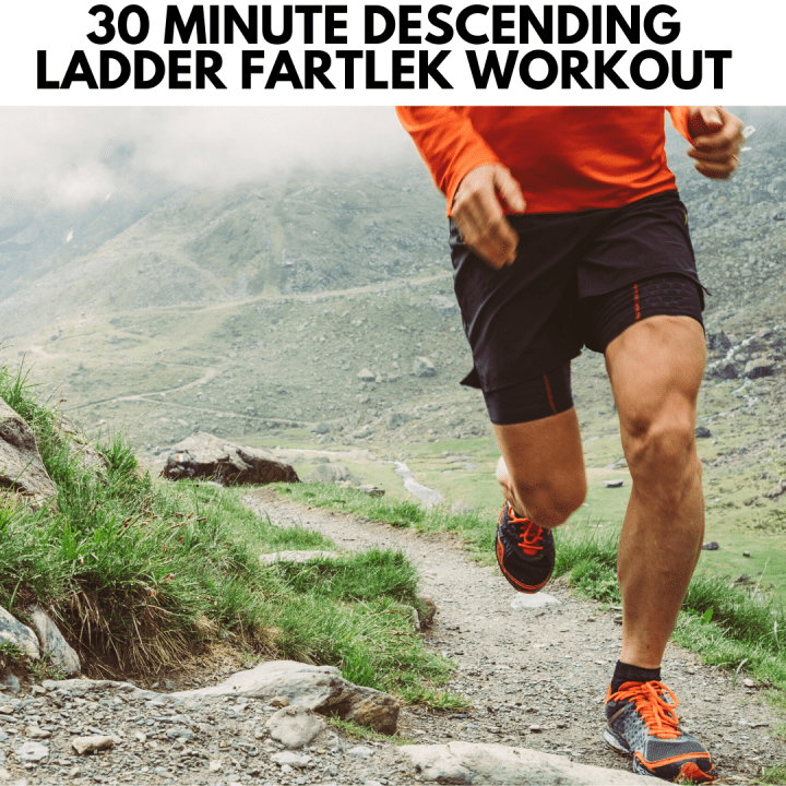 featured image for the post showing a man running on mountainous terrain