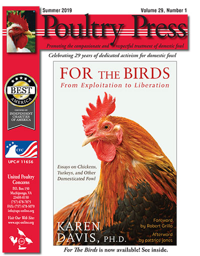 Poultry Press Summer 2019 cover