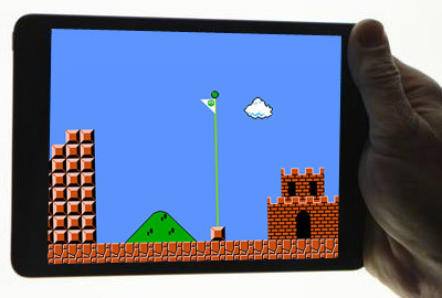 Nintendo Mario on iPad